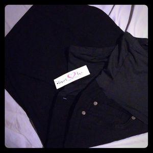 Other - Black Dress Pant Maternity Pants Plus Size
